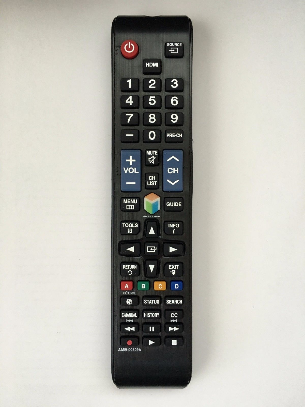 US NEW REMOTE CONTROL AA59 00809A For SAMSUNG LCD LED